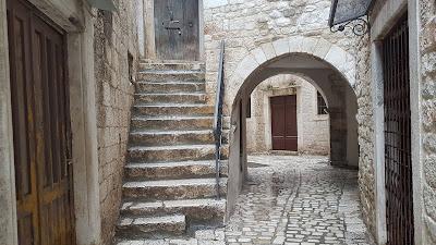 Tipiche scale di Traù