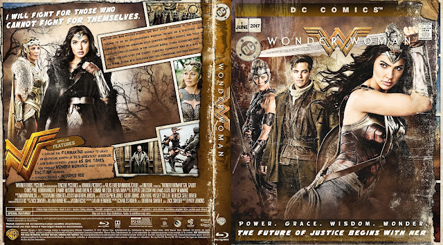 Wonder Woman Bluray Cover