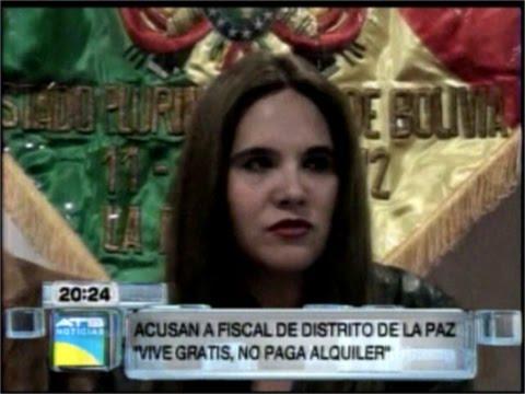 ACUSAN A FISCAL PATRICIA SANTOS DE VIVIR GRATIS EN ALQUILER