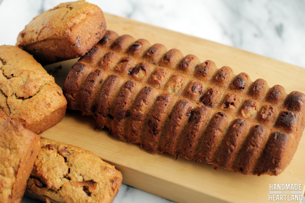 This is a banana bread recipe that has peanut butter and chocolate chips while also being easy, moist and delicious.