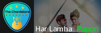 Papon - HAR LAMHA Guitar Chords |