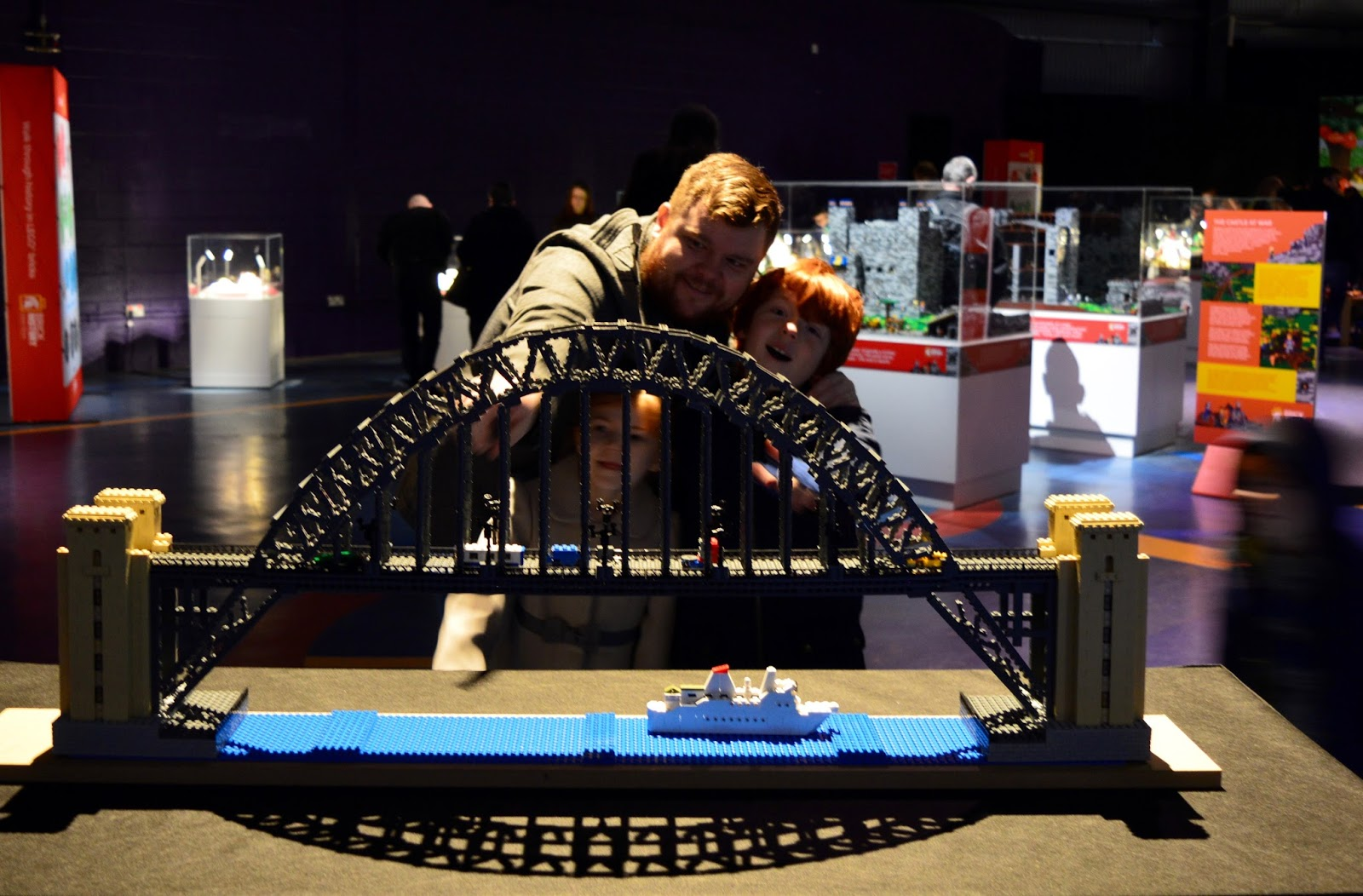 Brick History & North East Landmarks | New Lego Exhibitions at Life Science Centre, Newcastle | A Review - A Lego Tyne Bridge