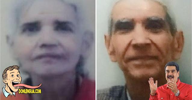 Dos viejitos murieron de hambre en su vivienda en Puente Hierro