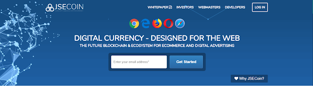 JSECOIN: Browser based Cryptocurrency with world class payments solution