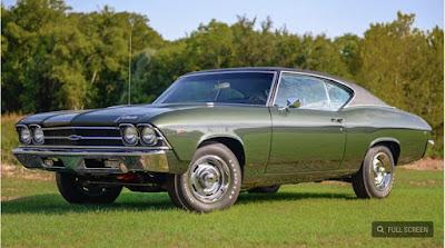 1969 COPO Chevelle