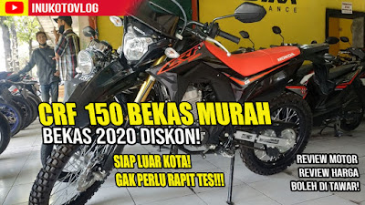 Honda CRF 150 diJual di Showroom Motor Bekas Semarang