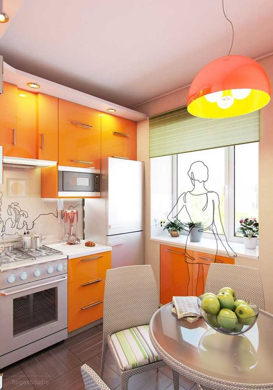 25 Best Small Kitchen Space-Saving Solutions Designs Ideas ...