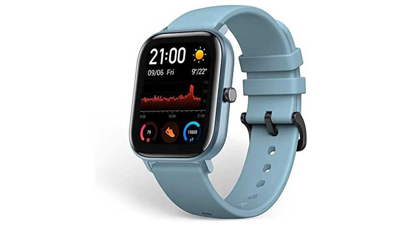 Huami Amazfit GTS Smart Watch Blue