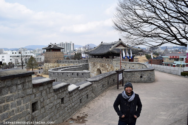 UNESCO WORLD HERITAGE SITE SUWON HWASEONG FORTRESS AND THE PALACE