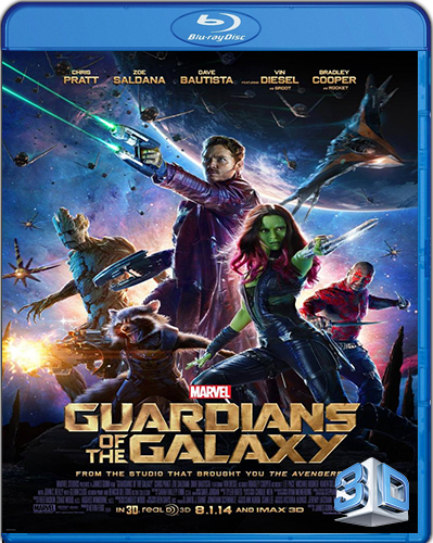 Guardians of the Galaxy [BD25] [3D] [2014] [Latino]