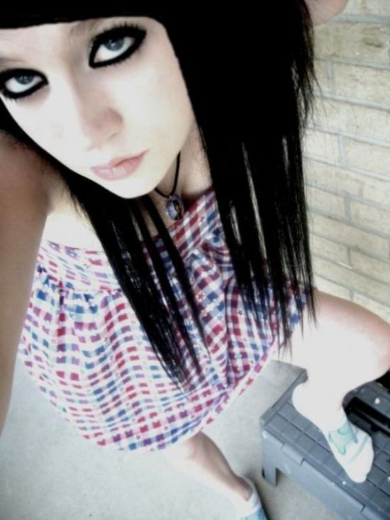 Emo Wallpapers Cute Emo Girls