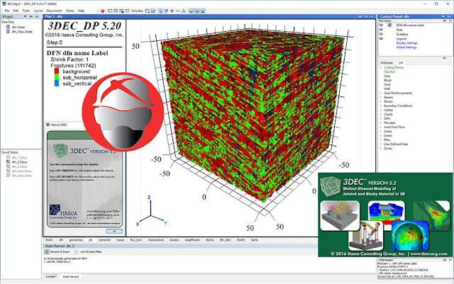 ITASCA 3DEC.v5.20
