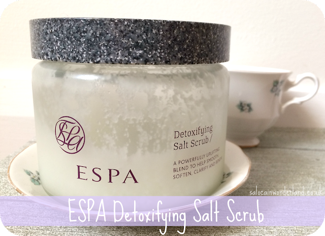 espa detoxifying salt scrub review