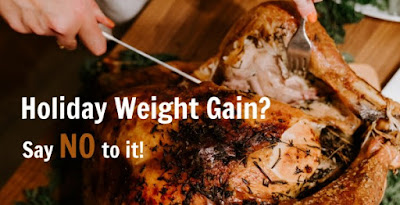 Top 10 Tips  to Help You Avoid Weight Gain  over Holidays