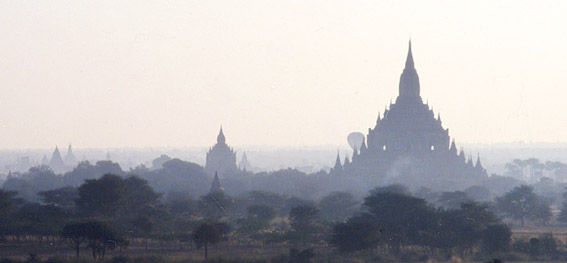 Bagan Myanmar Pagoda and Temples