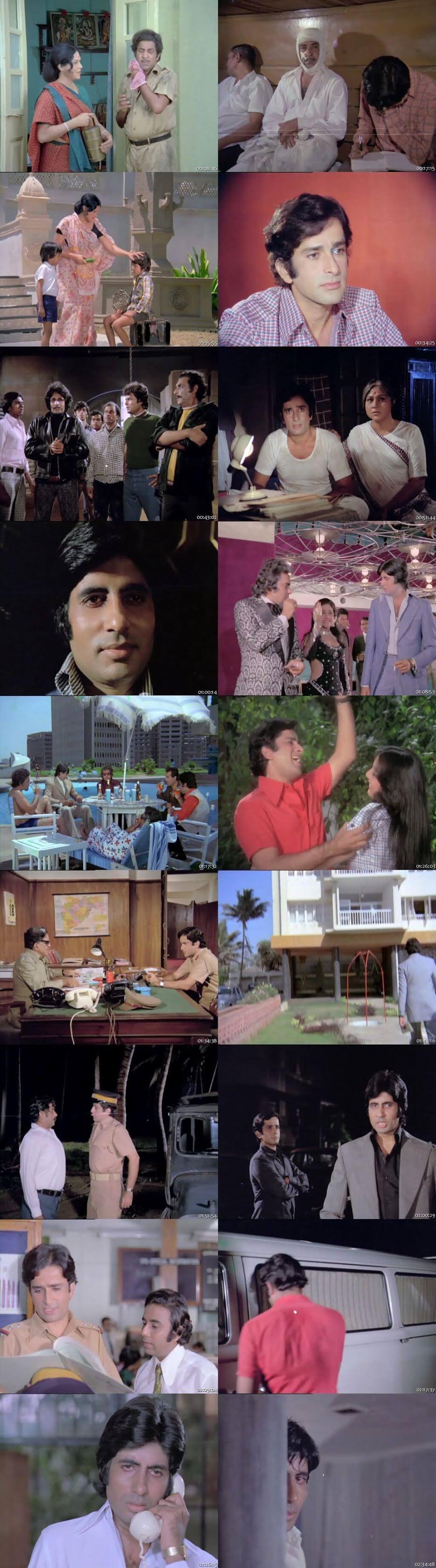 Screen Shot Of Deewaar 1975 300MB HDRip 480P Full Hindi Movie Watch Online Free Download