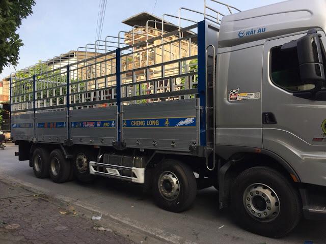 Đóng thùng xe tải Chenglong