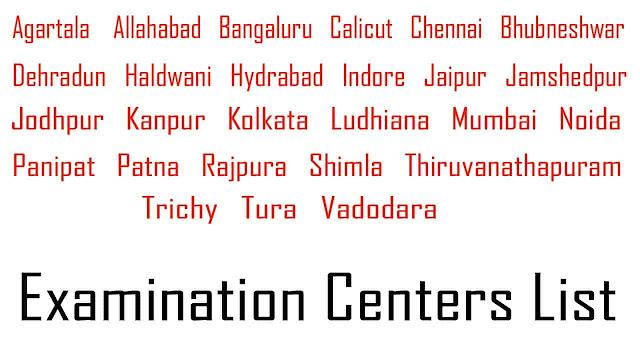 CTI Examination centers