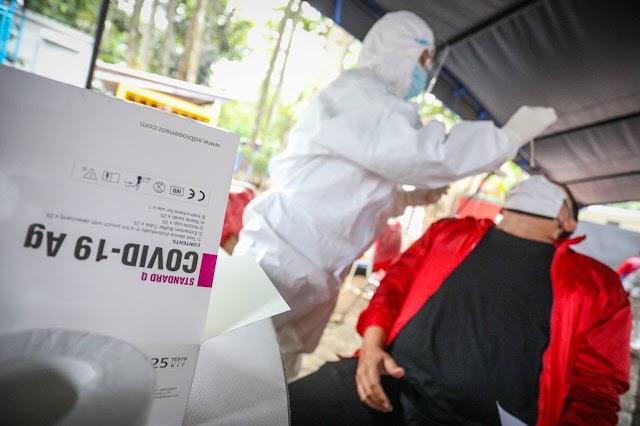 Pemkot Bandung Fasilitasi Antigen  Gratis  Kepada 3.244 Guru Honorer  Peserta Seleksi P3K