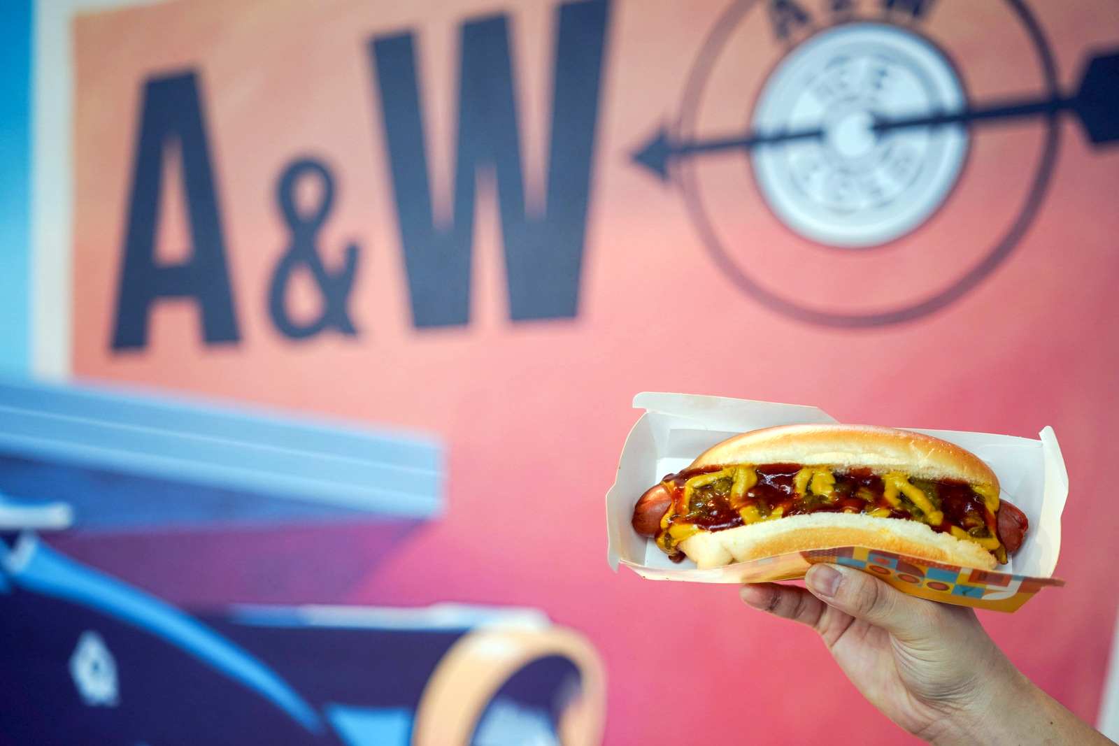 A&W Malaysia: Exclusive Coneys bring in a big bite of Chicago & Boston