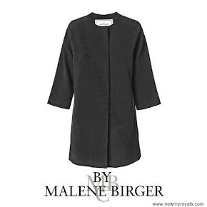 Crown Princess Victoria wore BY MALENE BIRGER Coat and MAYLA Dress