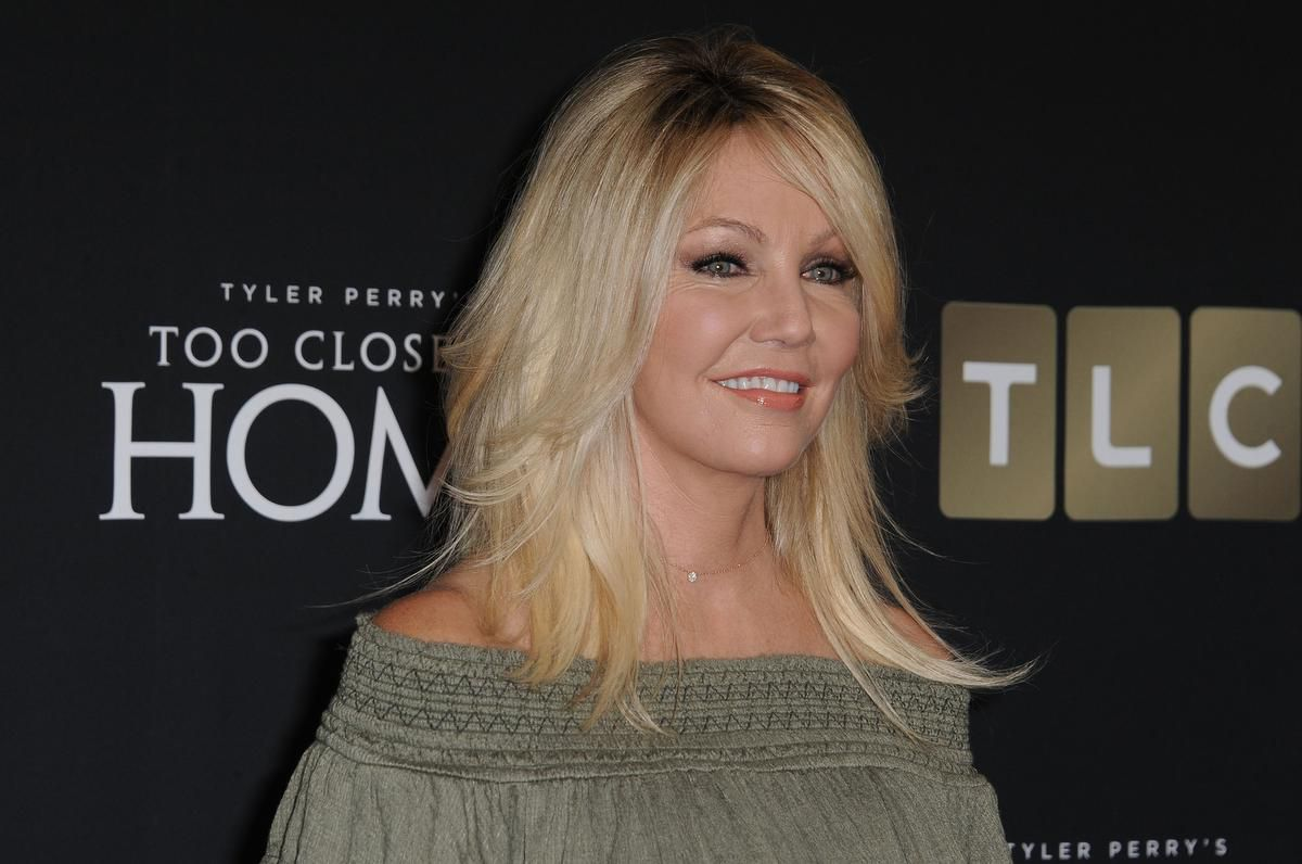 Heather Locklear Arrested After Allegedly Punching A Police Officer And Kicking An EMT