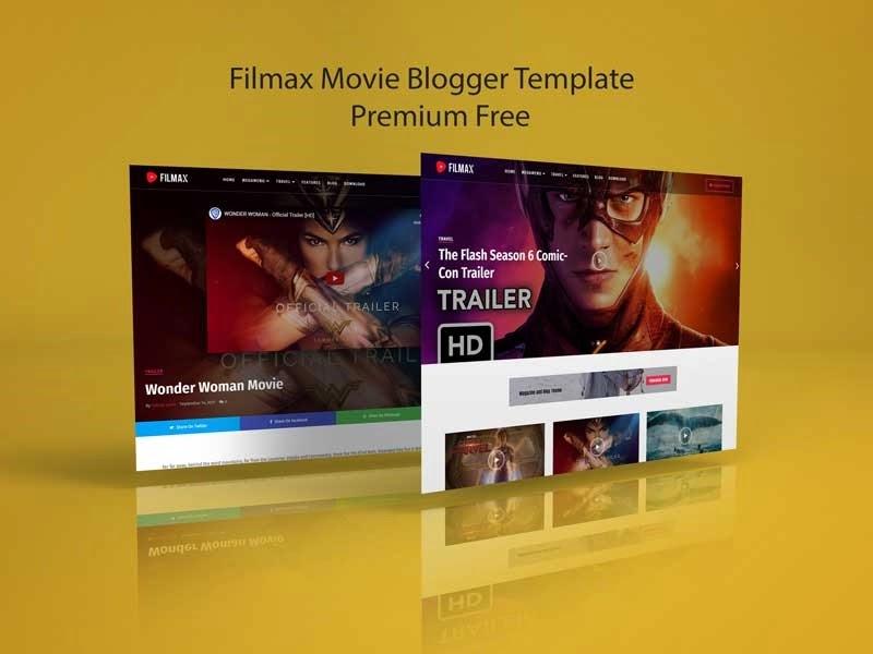 Filmax Movie Blogger Template Premium
