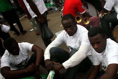 jonathan paid supporters abuja rally