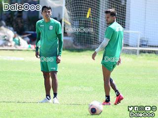 Ronaldo Sánchez y Matheo Zoch se sumaron a los trabajos de Oriente Petrolero luego de abandonar la selección a pedido del Presidente Ronald Raldes - DaleOoo