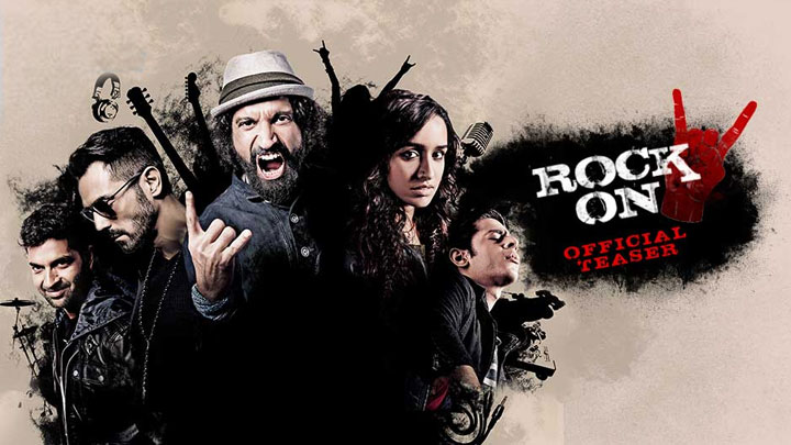Complete cast and crew of Rock On!! 2 (2016) bollywood hindi movie wiki, poster, Trailer, music list -Farhan Akhtar, Arjun Rampal, Movie release date February 19, 2016