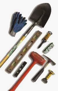 tools for building retaining walls