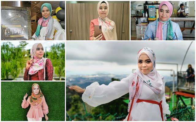 iena eliena in printed shawl