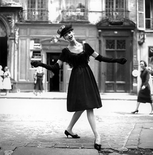 Georges Dambier Vintage Black And White Fashion Photography