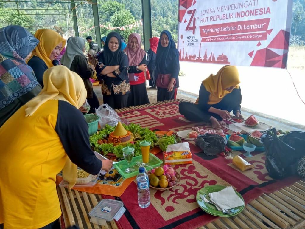 Peringati Kemerdekaan Mahasiswa KKN UIN SGD Gelar Semarak Kemerdekaan di Desa Cidadap