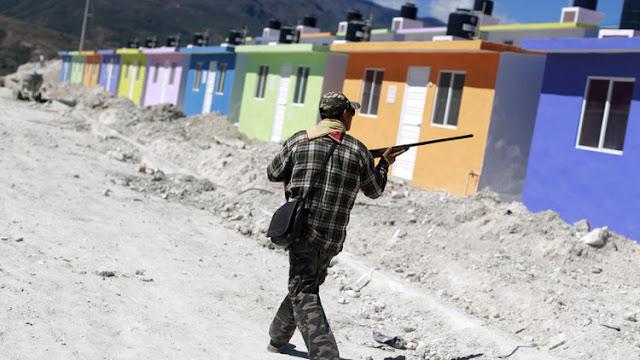 La guerrilla, al alza en México por la corrupción e ineficacia de las políticas públicas
