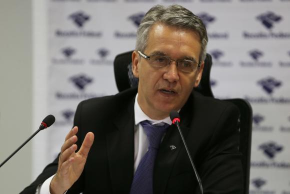 O Subsecretário de Fiscalização da Receita Federal, Iágaro Jung Martins, anunciou, em Brasília, o resultado de ações de fiscalização no primeiro semestreJosé Cruz/Agência Brasil