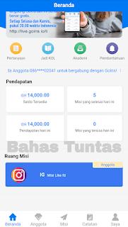 Cara Daftar dan Menghasilkan Uang Dari Situs Goins