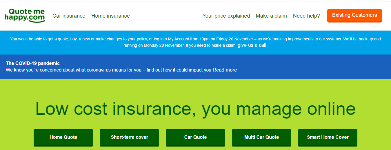 10 Place insurance for a car