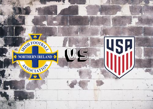 Irlanda del Norte vs Estados Unidos  Resumen