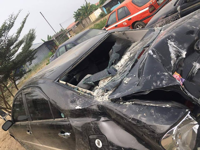 Popular Nigerian Artiste Ikpa Udo Escapes Accident | A Day to His Show Titled: #328Miles | Pictures