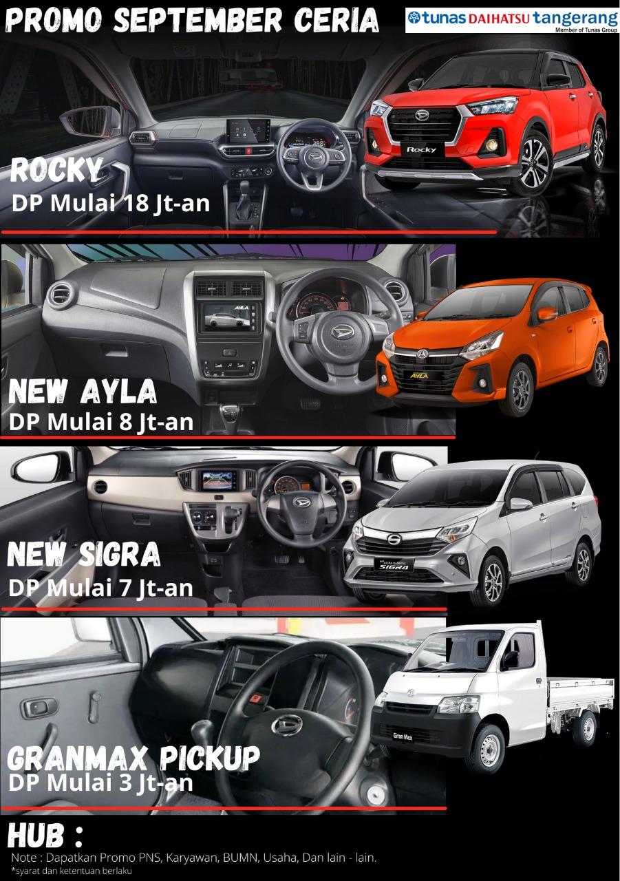 Kejutan Promo Daihatsu | September 2021
