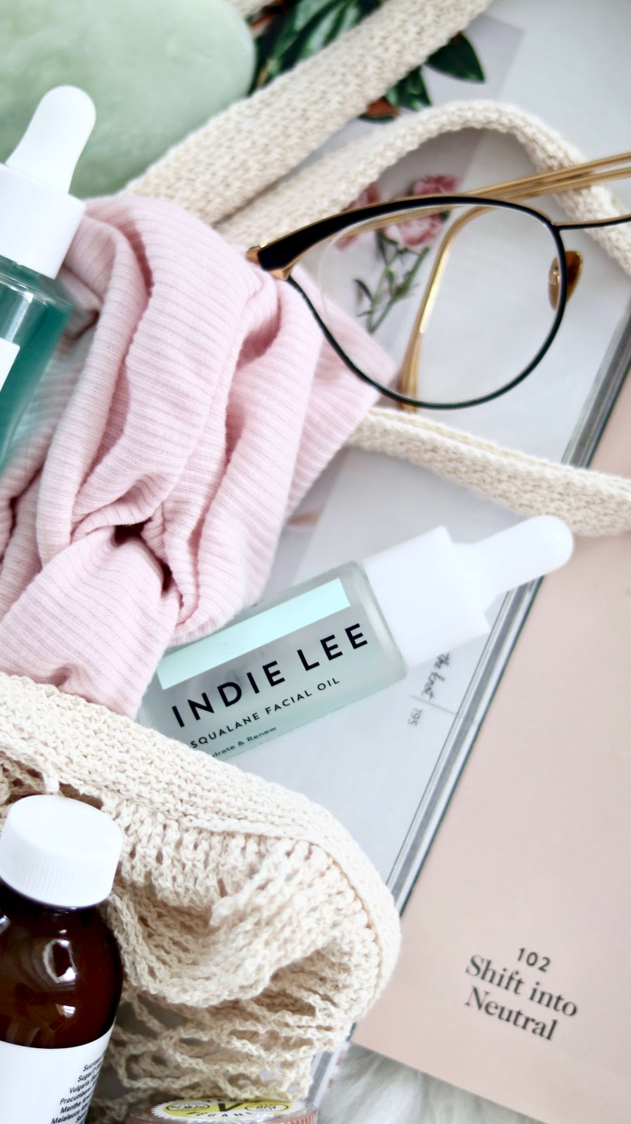Indie lee squalane facial oil best all natural skincare from the true beauty talk