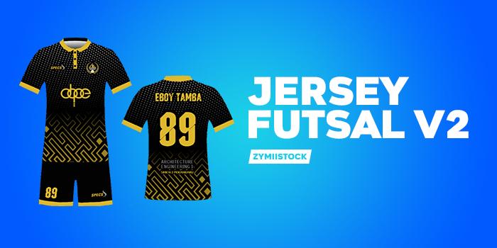 Download Mockup Jersey Futsal V2 PSD - ZYMIISTOCK