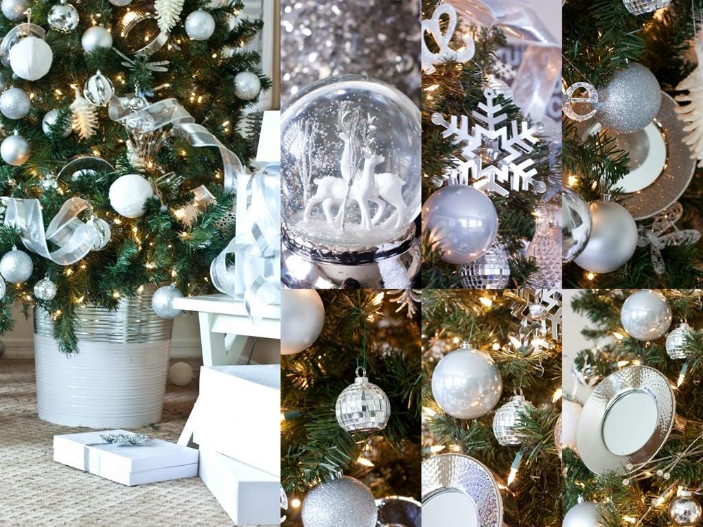 ideias para decorar arvore de natal branca : ideias para decorar arvore de natal branca:IDEIAS PARA UMA DECORAÇÃO DE NATAL BRANCA – Papo de Design