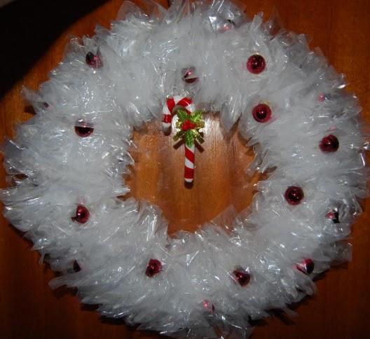 A mi manera c mo realizar una corona navide a for Como hacer una corona de navidad para la puerta