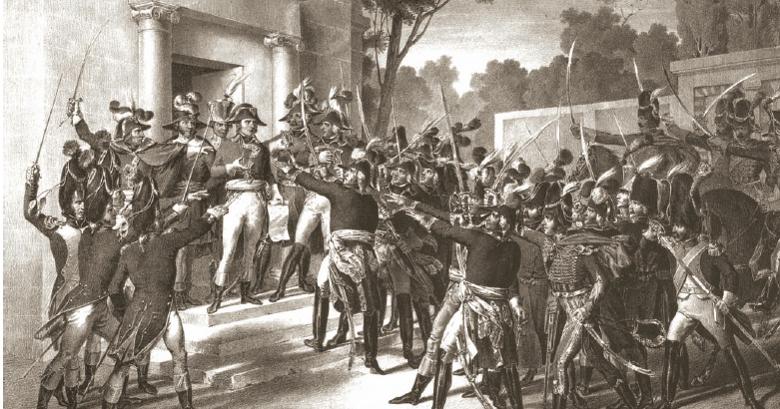 Blog De Historia Del Mundo Contemporáneo El 18 Brumario De Napoleón Bonaparte 9 De Noviembre De 1799
