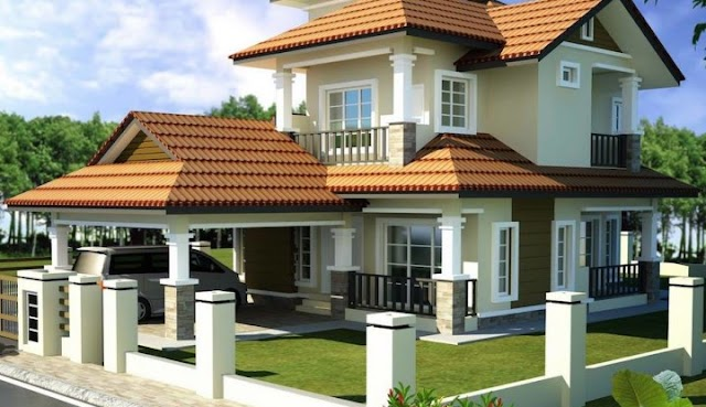Modern 2 storey bungalow designs with images