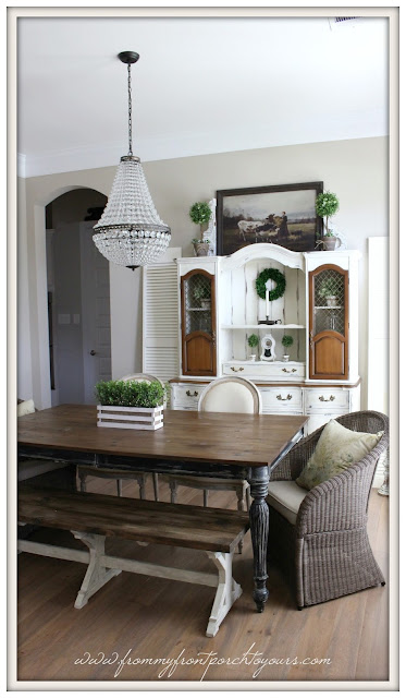 french farmhouse-pottery barn-chandelier-mia-suburban farmhouse dining room-from my front porch to yours