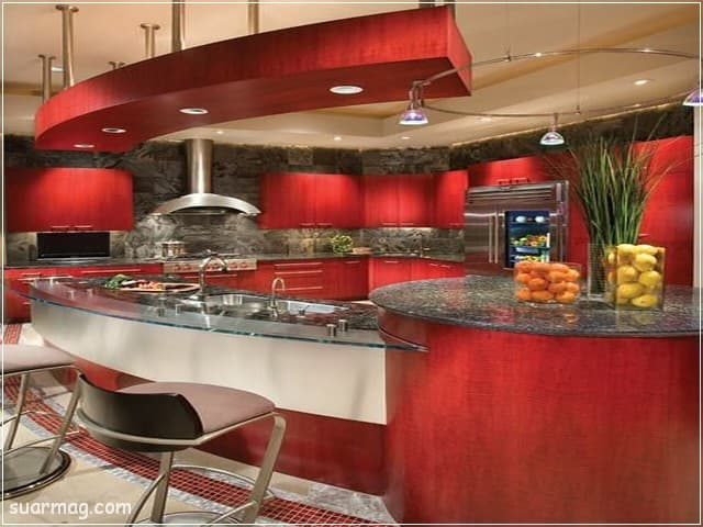 جبس بورد مطابخ 10   Kitchen Gypsum Designs 10