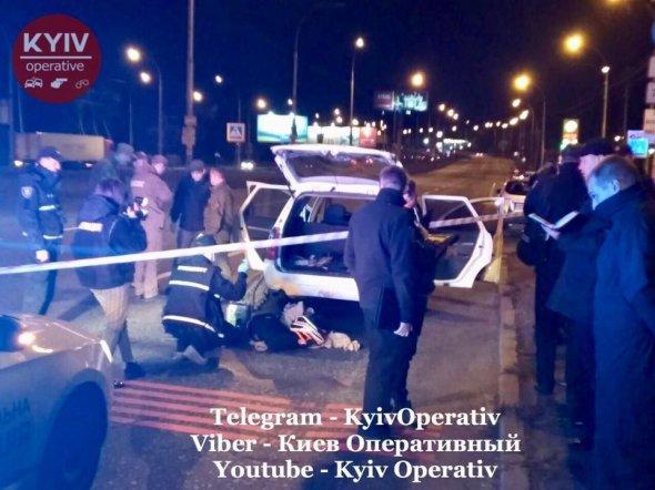 У Києві затримали автомобіль з гранатами
